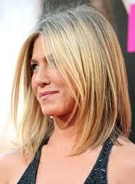 Bob Frisuren Mittellang Blond by Die Besten 25 Aniston Langer Bob Ideen Auf