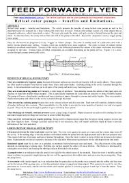 Chauffeur Resume Helical Rotor Pumps Benefits And Limitations