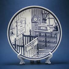baby birth plates decorative personalized plates