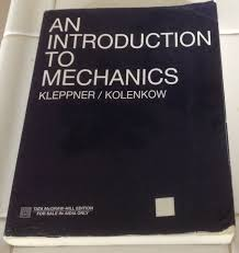 an introduction to mechanics daniel kolenkow robert j
