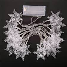 buy wholesale snowflake string lights from china snowflake