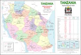 Mt Kilimanjaro Map Vector Maps U2014 Tanzania Tourism