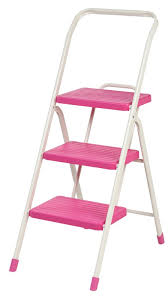 iris 3 step folding step stool with 225 lb load capacity