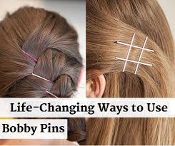 bobby pins creative ways to use bobby pins alldaychic