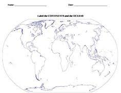 7 continents worksheet continents u0026 oceans practice pad 2nd