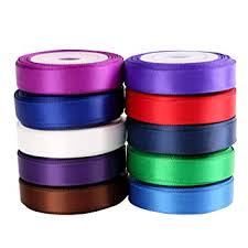 satin ribbon laribbons solid color satin ribbon asst 3 10