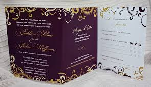 cheap all in one wedding invitations 6901