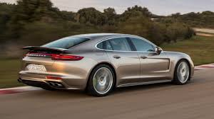 widebody porsche panamera hitting 196mph in the porsche panamera turbo s e hybrid top gear