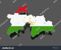 Tajikistan Map Map Tajikistan 3d Stock Illustration 179654294 Shutterstock