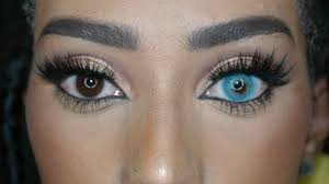colored halloween contacts colored contact lenses review luminous u0026 naturel youtube
