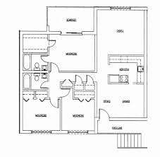 small ranch house floor plans bedroom new three bedroom houses floor plans for small homes