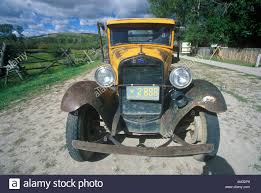 Antique Ford Truck Models - an antique ford truck in bannack montana stock photo royalty free