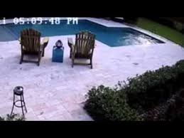 Patio That Turns Into Pool Dives Into The Swimming Pool To Save Her Hoverboard
