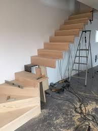 escalier bois design escalier design aux lignes épurées menuiserie