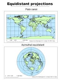 Azimuthal Map Map Projections Byron Lutz