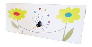 jesswick insect birthday greeting card