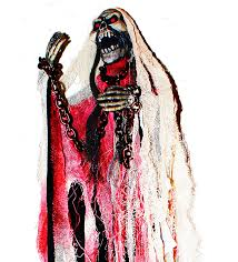 amazon com 40 inch animated skeleton ghost halloween decoration