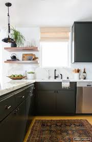 Matte Black Kitchen Cabinets White Cabinets Black Granite What Color Backsplash Cabinets
