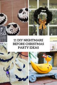 diy nightmare before christmas party ideas cover halloween
