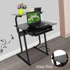 Laptop Computer Desks For Home by Amazon Com Ogima Computer Desk With Sliding Keyboard Pc Laptop