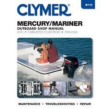 mercury mariner 4 stroke ob 95 00 clymers official shop manual