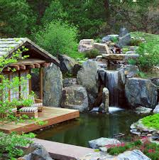 indoor waterfall design and construction landscape asian with