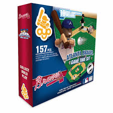 Infant Atlanta Braves Clothes Oyo Sports Atlanta Braves Game Time Set 157 Piece Mlb Toys