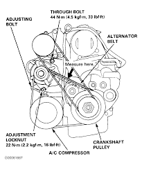 1996 honda accord serpentine belt routing and timing belt diagrams