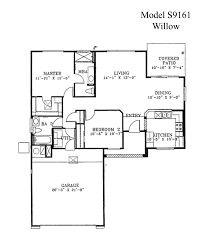 Simple House Floor Plans With Measurements Free House Plans With Bats