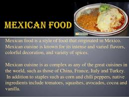 interesting unknown facts about mexican cuisine