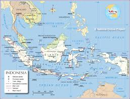 South Asia Political Map by Political Map Of Indonesia Maritime Southeast Asia Nations