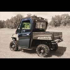 polaris ranger wide open country green full cab enclosure w wiper system polaris