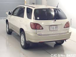 toyota lexus harrier 1998 1998 toyota harrier pearl 2 tone for sale stock no 54727