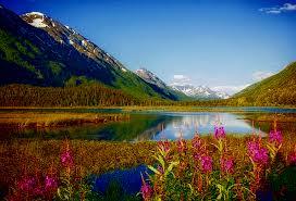 Alaska Landscapes images Alaska landscapes freshwater nature water aquatic lake sky jpg