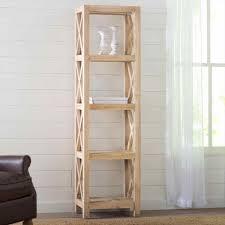 Leaning Bookcase White by Freedom Ladder Shelf Amiphi Info