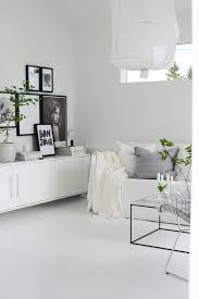 White Interiors Homes by Black And White Living Rooms