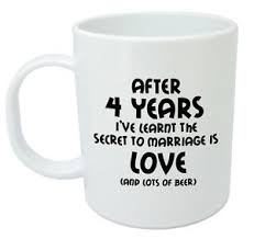 4th anniversary gifts for him after 4 years ive learnt mug 4th wedding anniversary gifts for