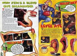 earthworm jim collected images rocket worm videogames