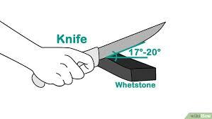comment aiguiser un couteau de cuisine 3 ères de aiguiser un couteau wikihow