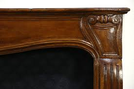 sold country french provincial fireplace mantel 1790 antique