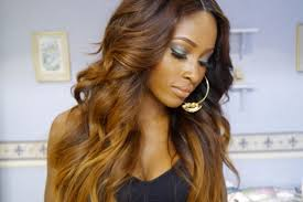 caramel blonde ombre hair color color