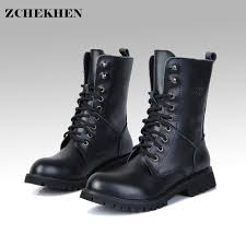 s boots designer genuine leather boots s motorcycle