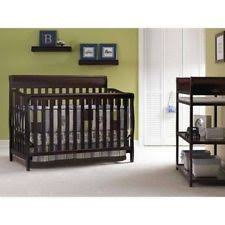 Graco Stanton 4 In 1 Convertible Crib Graco Stanton 4 In 1 Convertible Crib Cherry Ebay