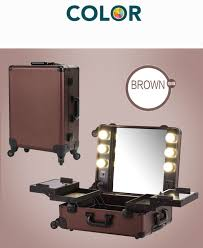 lighting for makeup artists coffee makeup artist with lights pro station portable