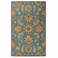 Teal Blue Home Decor Home Decorators Collection Vogue Teal Blue 9 Ft X 12 Ft Area Rug