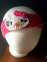 hello headband crochet patterns galore hello headband