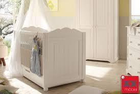 Schlafzimmer Cinderella Premium Babybett Landhausstil Weiss Cinderella Kiefer Teilmassiv T54