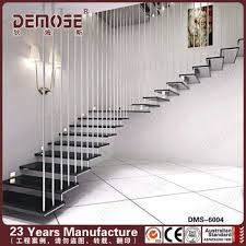 Apartment Stairs Design Wood Glass Stairs Grill Design For Apartment Staircase Buy