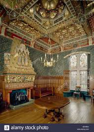 castle dining room cardiff castle dining room stock photo royalty free image