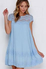 light blue shift dress light blue lace dresses naf dresses